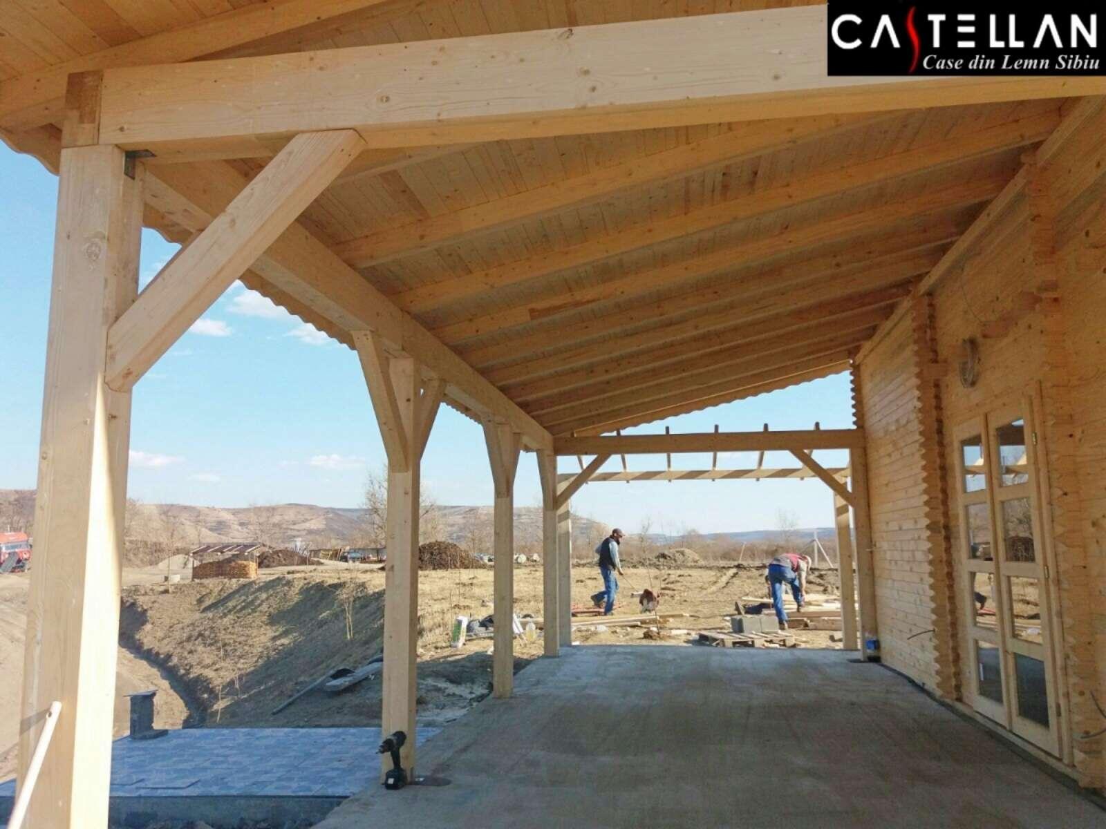 Casa Oprea Medias Case Din Lemn Castellan