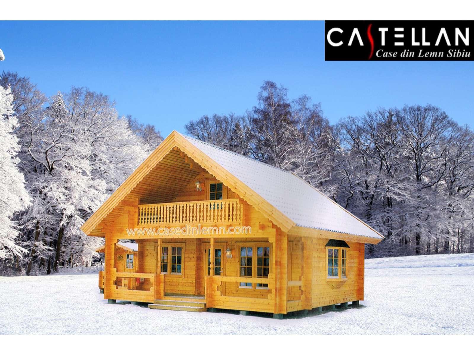 Casa Ontario Case Din Lemn Castellan